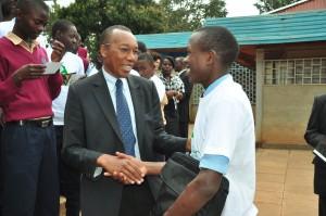 Winner Felix_Kamiri with Kiambu Dep Governor Hon Gerald Githinji