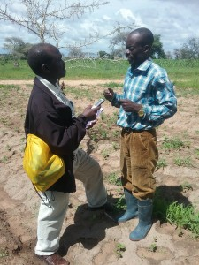 Daniel Lungo (Right), Utiga village Wanging'ombe District Njombe Region