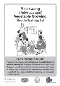 Malakwang Vegetable Trainer's Notes