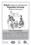 Nakati Vegetable Trainer's Notes