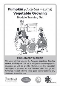 Pumpkin Vegetable Trainer's Notes