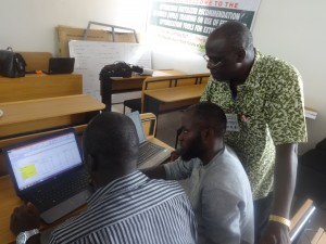 OFRA training Nigeria May 2017 Prof. Tarfa  explains the FOT JPG