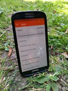 OFRA FOT phone app Kenya AEZ