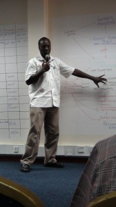George Oduor at OFRA copy